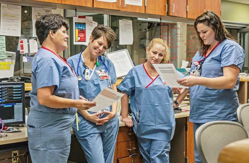 Nurses Stick Together